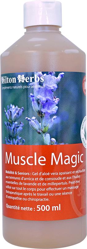 Flacons de Muscle Margic pour massage