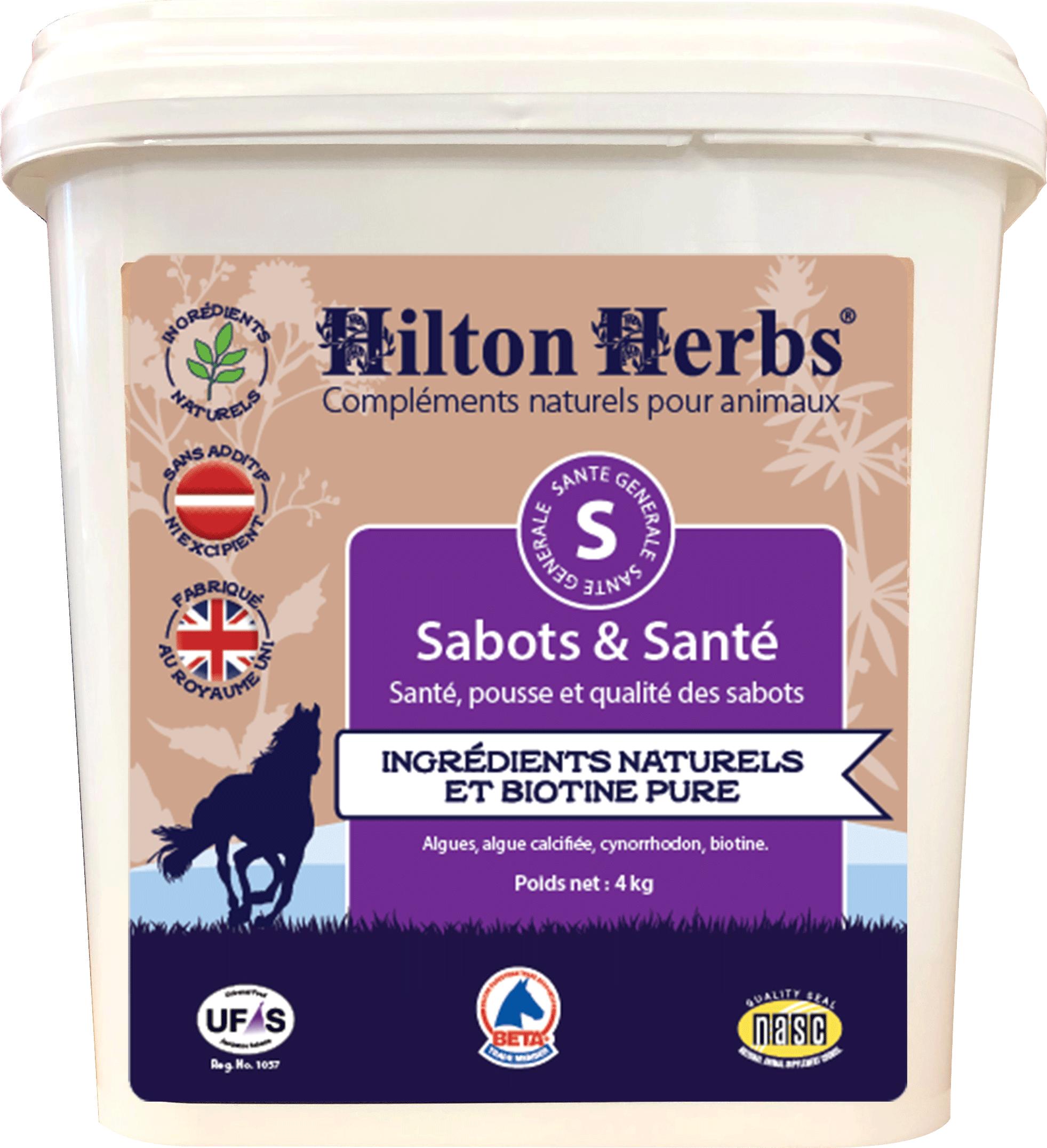 Complément Sabots et Santé à la biotine pour chevaux