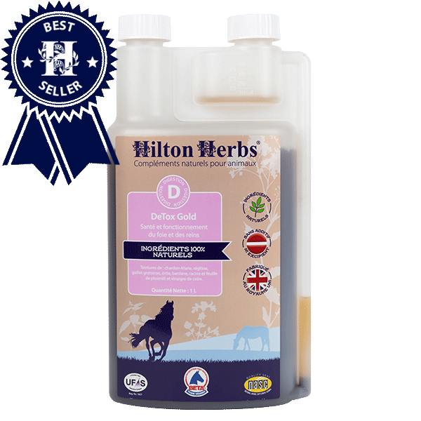 Detox Gold pour chevaux de Hilton Herbs