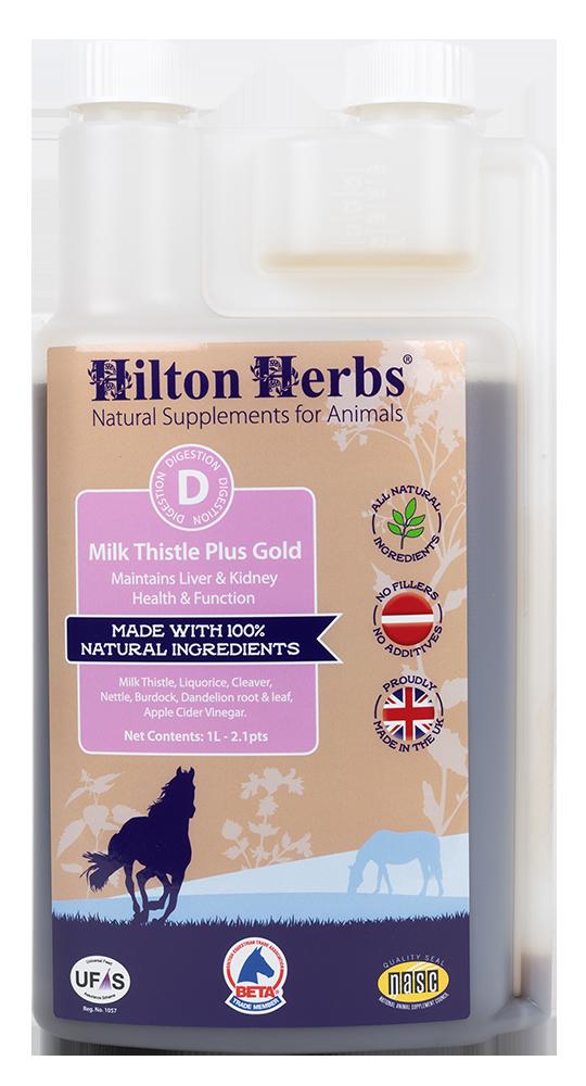 Milk Thistle Plus Gold - 2.1pt Bottle