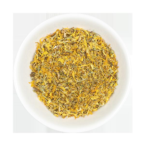 Calendula (Marigold) in dish