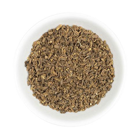 Valerian Cut Root in dish