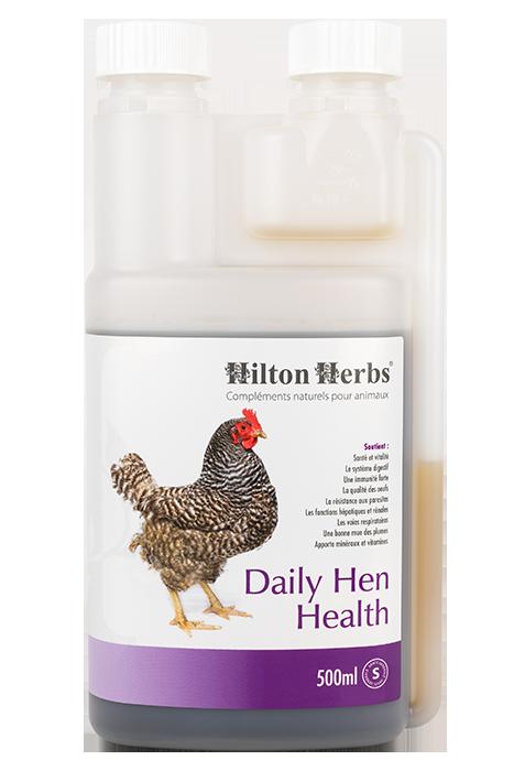 Complément pour les poules pondeuse Daily Hen Health de Hilton Hebrs
