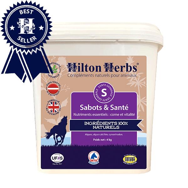 Complément Sabots et Santé pour chevaux de Hilton Herbs