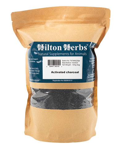 Activated Charcoal - 500g Kraft Bag
