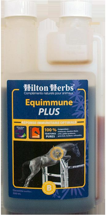 Un flacon de Equimmune Plus 500 ml