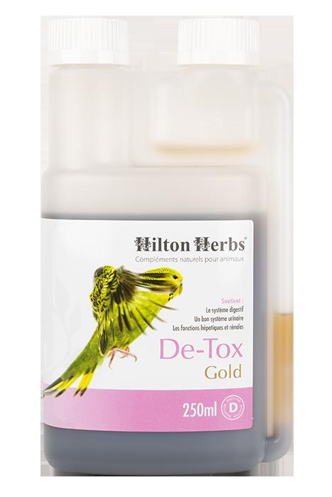 Detox Gold de Hilton Herbs pour poules et oiseaux