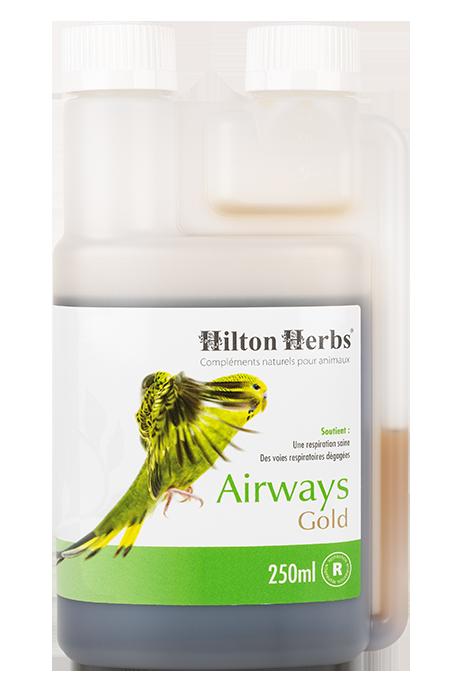 Airways Gold complément pour la respiration des oiseaux