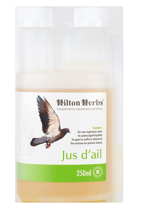 Jus d'ail pur pour oiseaux et volailles de Hilton Herbs