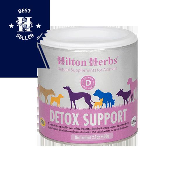 Detox Support - 125g tub with best seller rosette