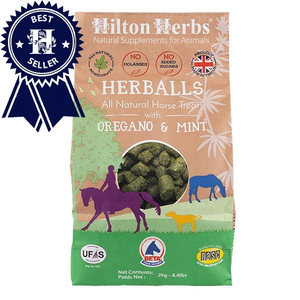 Friandises Herballs pour chevaux de Hilton Herbs